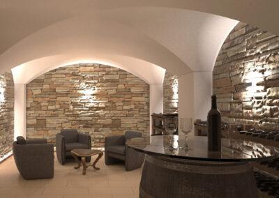 Weinkeller Licata, Mauren