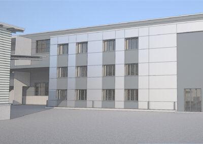 Erweiterung Büro 87 Ed. Keller AG, Kirchberg