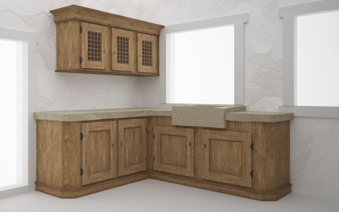 Visualisierung Schlossküche